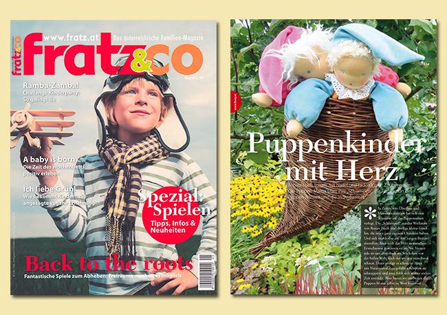 Renate Fucik   Artikel Fratz&Co - Ausgabe 05/2014 - Oktober